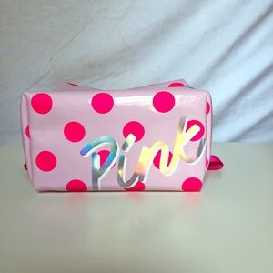 VS pink make up bag